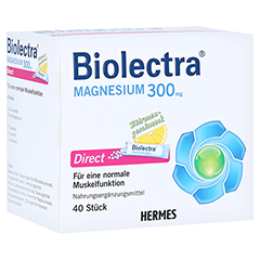 BIOLECTRA Magnesium Direct Pellets 40 Stück