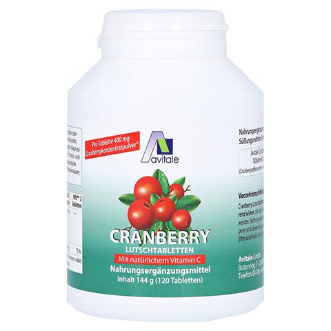 Cranberry Lutschtabletten 120 Stück
