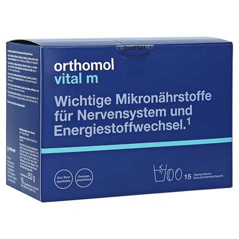 ORTHOMOL Vital M 15 Granulat/Kaps.Kombipackung 1 Stück
