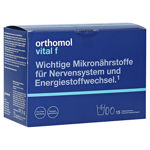 ORTHOMOL Vital F 15 Granulat/Kaps.Kombipackung 1 Stück