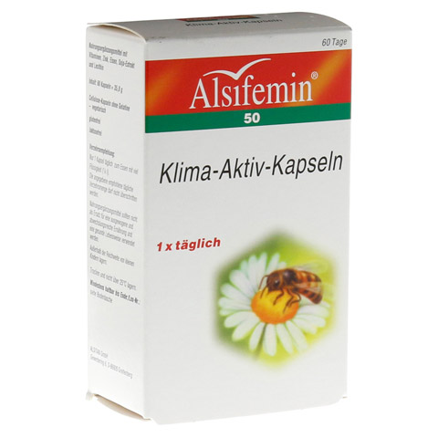 ALSIFEMIN 50 Klima-Aktiv m.Soja 1x1 Kapseln 60 Stück