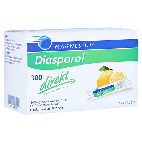 MAGNESIUM DIASPORAL 300 direkt Granulat 50 Stück
