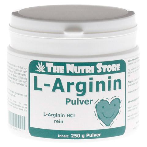 L-Arginin HCL rein Pulver 250 Gramm
