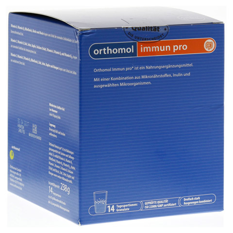 ORTHOMOL Immun pro Granulat 14 Stück