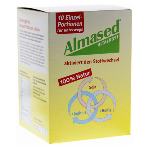 ALMASED Vitalkost Pulver Beutel 10x50 Gramm