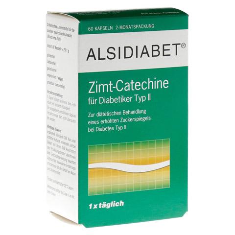 Alsidiabet Zimt Catechine f.Diab.Typ II Kapseln 60 Stück