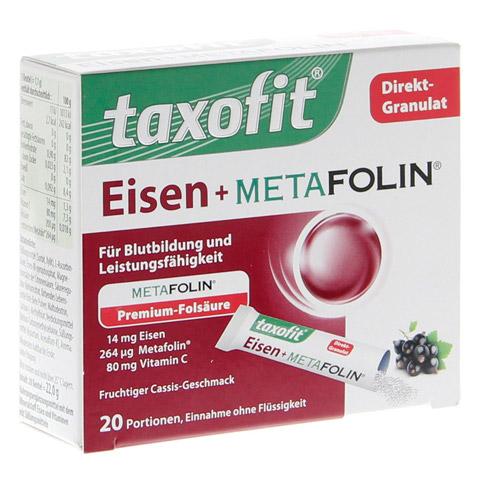 TAXOFIT Eisen+Metafolin Granulat 20 Stück