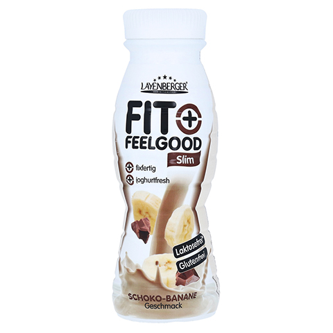 FIT+FEELGOOD fixfer.Diät-Shake Schoko Banane 312 Milliliter