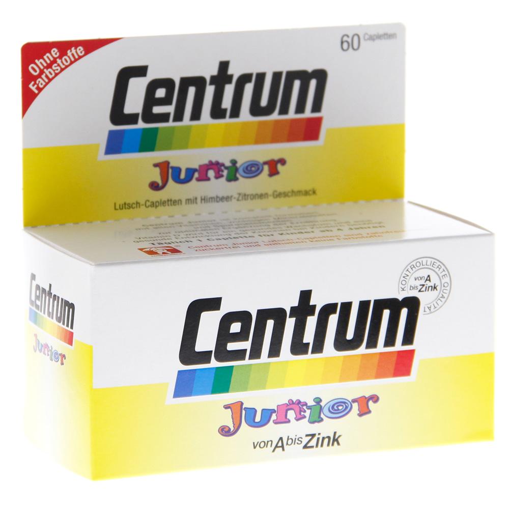 Erfahrungen zu CENTRUM Junior Caplette 60 Stück medpex