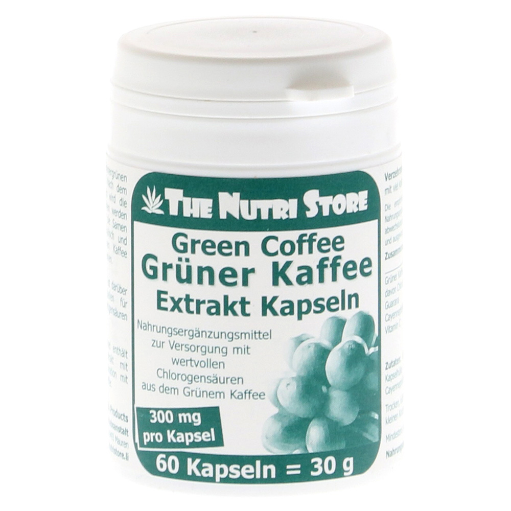 gr ner kaffee extrakt 300 mg kapseln 60 st ck online bestellen medpex versandapotheke. Black Bedroom Furniture Sets. Home Design Ideas