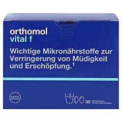 ORTHOMOL Vital F Grapefruit Granulat/Kaps. 30 Stück - Vorderseite