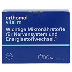 ORTHOMOL Vital M Grapefruit Granulat/Kaps. 30 Stück - Vorderseite