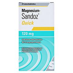 MAGNESIUM SANDOZ Quick Minerals Lutschtabletten 24 Stück - Vorderseite