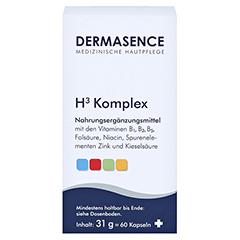 DERMASENCE H3 Komplex Kapseln 60 Stück - Vorderseite