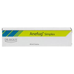 ANEFUG simplex Creme 40 Milliliter - Vorderseite