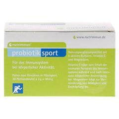 PROBIOTIK Sport Pulver 30x3 Gramm - Vorderseite