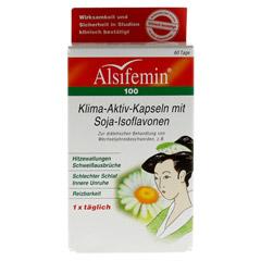 ALSIFEMIN 100 Klima-Aktiv m.Soja 1x1 Kapseln 60 Stück - Vorderseite