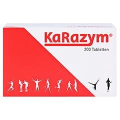 KARAZYM magensaftresistente Tabletten 200 Stück - Vorderseite