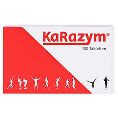 KARAZYM magensaftresistente Tabletten 100 Stück - Vorderseite