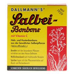 DALLMANN'S Salbeibonbons 20 Stück - Vorderseite
