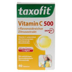 TAXOFIT Vitamin C 500 Depot Tabletten 40 Stück - Vorderseite