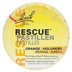 BACH ORIGINAL Rescue Pastillen Orange Holunder 50 Gramm - Vorderseite