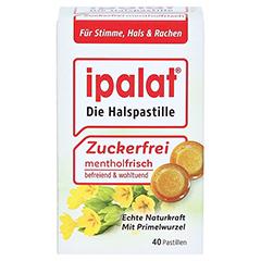 IPALAT Halspastillen zuckerfrei 40 Stück - Vorderseite