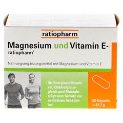 MAGNESIUM UND VITAMIN E-ratiopharm Kapseln 60 Stück - Vorderseite