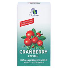 CRANBERRY KAPSELN 400 mg 60 Stück - Vorderseite