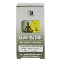 ROSENWURZ Kapseln 200 mg 60 Stück - Vorderseite