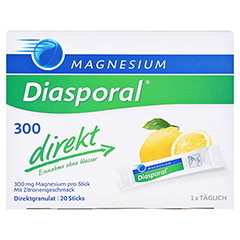 MAGNESIUM DIASPORAL 300 direkt Granulat 20 Stück - Vorderseite