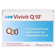 VIVIVIT Q10 Kapseln 90 Stück - Vorderseite