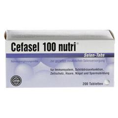 Cefasel 100 Nutri Selen-Tabs 200 Stück - Vorderseite