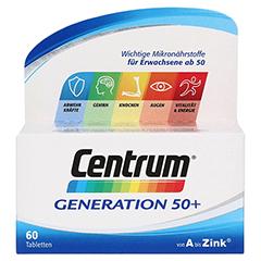 CENTRUM Gen.50+ A-Zink+FloraGlo Lutein Caplette 60 Stück - Vorderseite