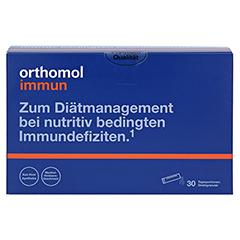ORTHOMOL Immun Direktgranulat Himbeer/Menthol 30 Stück - Vorderseite