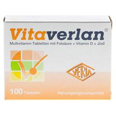 Vitaverlan Tabletten 100 Stück - Vorderseite