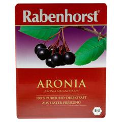 RABENHORST Aronia Bio Muttersaft 3000 Milliliter - Vorderseite