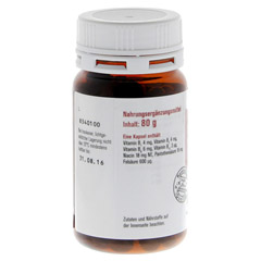SOVITA active Vitamin B-Komplex Kapseln 200 Stück - Linke Seite