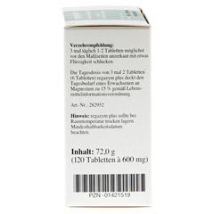 REGAZYM Plus Syxyl Tabletten 120 Stück - Linke Seite