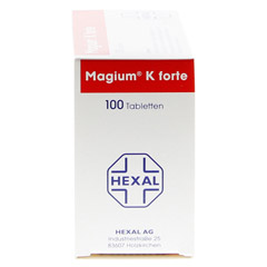 Magium K Forte 100 Stück - Linke Seite