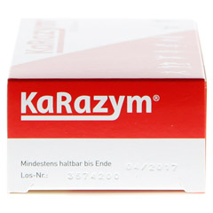 KARAZYM magensaftresistente Tabletten 100 Stück - Linke Seite