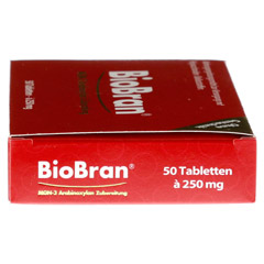 BIOBRAN 250 Tabletten 50 Stück - Linke Seite