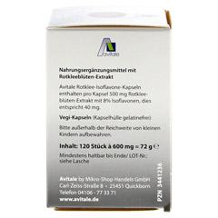 ROTKLEE KAPSELN 500 mg 120 Stück - Linke Seite