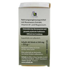 ROSENWURZ Kapseln 200 mg 60 Stück - Linke Seite