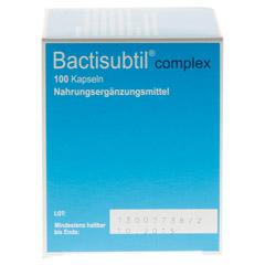 BACTISUBTIL Complex Kapseln 100 Stück - Linke Seite
