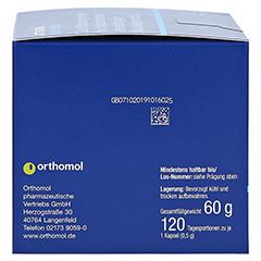 ORTHOMOL AMD extra Kapseln 120 Stück - Linke Seite