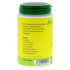 BIO HEIDELBERGERS 7 Kräuter Stern Tee 100 Gramm - Linke Seite