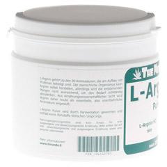 L-Arginin HCL rein Pulver 250 Gramm - Linke Seite