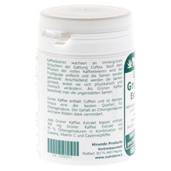 GRÜNER KAFFEE Extrakt 300 mg Kapseln 60 Stück - Linke Seite