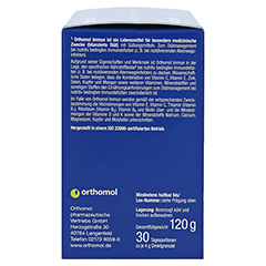 ORTHOMOL Immun Direktgranulat Himbeer/Menthol 30 Stück - Linke Seite